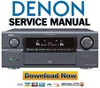 Thumbnail Denon AVR-4806 + AVC-A11XV Service Manual & Repair Guide