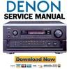 Thumbnail Denon AVR-5803 + AVC-A1SR Service Manual & Repair Guide