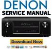Thumbnail Denon AVR-657 587 487 Service Manual & Repair Guide