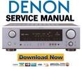 Thumbnail Denon AVR 686 + 486 Service Manual & Repair Guide