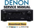 Thumbnail Denon AVR-688 588 488 Service Manual & Repair Guide