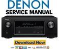 Thumbnail Denon AVR-X2100W + S900W Service Manual & Repair Guide