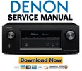 Denon AVR X2200W S910W Service Manual & Repair Guide