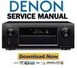 Thumbnail Denon AVR X5200W Service Manual & Repair Guide
