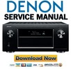 Denon AVR X7200W X7200WA Service Manual & Repair Guide