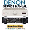 Thumbnail Denon DRA CX3 Service Manual & Repair Guide