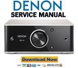 Denon PMA 50 Service Manual & Repair Guide