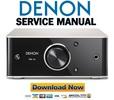 Thumbnail Denon PMA 50 Service Manual & Repair Guide