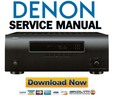 Thumbnail Denon POA-3012CI Service Manual & Repair Guide