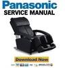 Thumbnail Panasonic EP1285 USA Service Manual & Repair Guide