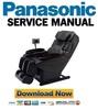 Thumbnail Panasonic EP30007 Service Manual & Repair Guide