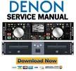 Thumbnail Denon DN-HD2500 Service Manual & Repair Guide