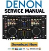 Denon DN-MC6000 Service Manual & Repair Guide