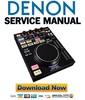 Thumbnail Denon DN SC2000 Service Manual & Repair Guide