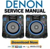 Denon DN SC2900 Service Manual & Repair Guide