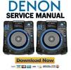 Thumbnail Denon DN SC2900 Service Manual & Repair Guide