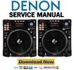Thumbnail Denon DN SC3900 Service Manual & Repair Guide