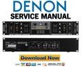 Thumbnail Denon DN X050 Service Manual & Repair Guide