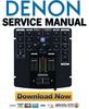 Thumbnail Denon DN X120 Service Manual & Repair Guide