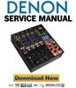 Thumbnail Denon DN X1700 Service Manual & Repair Guide