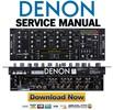 Thumbnail Denon DN X800 Service Manual & Repair Guide