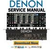Thumbnail Denon DN X900 Service Manual & Repair Guide