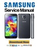 Thumbnail Samsung Galaxy S5 SM G900F Service Manual and Repair Guide