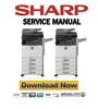 Thumbnail Sharp MX-2314N 2614N 3114N Service Manual and Repair Guide