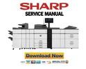Thumbnail Sharp MX-6500N 7500N Service Manual and Repair Guide