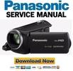 Thumbnail Panasonic HC V160 Camcorder Service Manual & Repair Guide