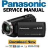Thumbnail Panasonic HC V270 V260 Camcorder Service Manual & Repair Guide