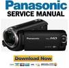 Thumbnail Panasonic HC-W570 Camcorder Service Manual & Repair Guide
