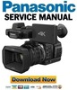 Thumbnail Panasonic HC X1000 4K Camcorder Service Manual & Repair Guide