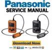 Thumbnail Panasonic HX A500 Active Camcorder Service Manual & Repair Guide