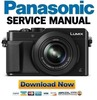 Thumbnail Panasonic Lumix DMC LX100 Service Manual & Repair Guide