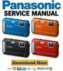Thumbnail Panasonic Lumix DMC TS25 FT25 FT30 TS30 Service Manual & Repair Guide