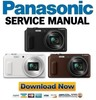 Thumbnail Panasonic Lumix DMC TZ57 TZ58 ZS45 Service Manual & Repair Guide