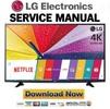 Thumbnail LG 58UF8300 Service Manual & Repair Guide