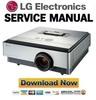Thumbnail LG CF3D Projector Service Manual and Repair Guide