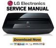 Thumbnail LG HECTO GL Projector Service Manual and Repair Guide