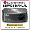 Thumbnail LG HX350T Projector Service Manual and Repair Guide