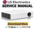 Thumbnail LG PB62G Projector Service Manual and Repair Guide