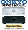 Thumbnail Onkyo A-9050 Service Manual and Repair Guide