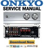Thumbnail Onkyo INTEC 275 A-933 Service Manual and Repair Guide