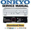 Thumbnail Onkyo A-9355 Service Manual and Repair Guide