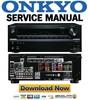 Thumbnail Onkyo HT R993 Service Manual and Repair Guide