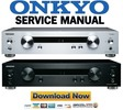 Thumbnail Onkyo P-3000R Preamplifier Service Manual and Repair Guide
