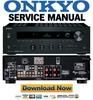 Thumbnail Onkyo TX-8050 Service Manual and Repair Guide