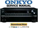 Thumbnail Onkyo TX-NR747 Service Manual and Repair Guide