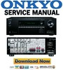 Thumbnail Onkyo TX-SR444 Service Manual and Repair Guide
